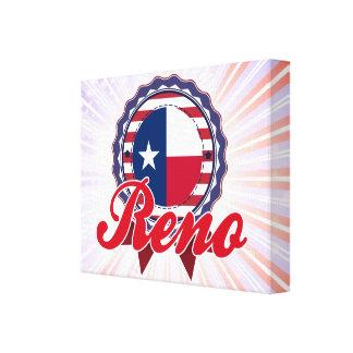 Reno TX Impresiones En Lienzo Estiradas