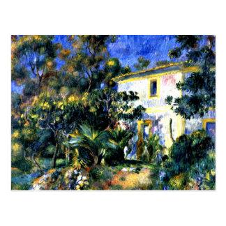 Renoir: Algerian Landscape Postcard
