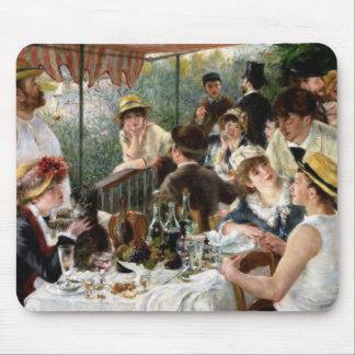 Renoir Alumerzo del fiesta del canotaje Tapete De Ratones