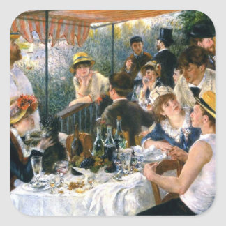 """Renoir, """"alumerzo pegatina del fiesta del"""