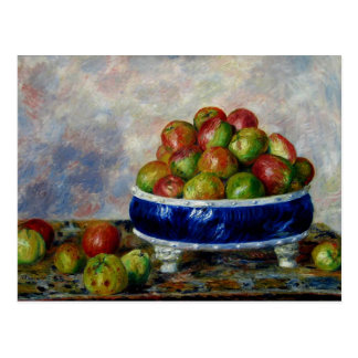 Renoir - Apples in a Dish Postcard