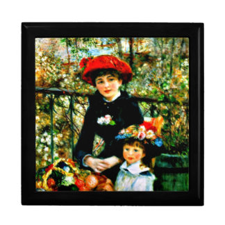 Renoir art: Two Sisters on the Terrace Keepsake Box