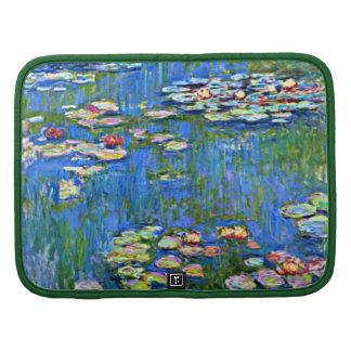 Renoir art: Water Lilies Folio Planner