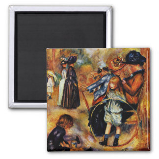 Renoir: At the Luxembourg Gardens Magnet