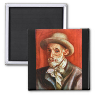 Renoir - autorretrato 1910 de Pedro Renoir Imán De Nevera