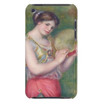 Renoir - baile del chica con pandereta iPod touch protector