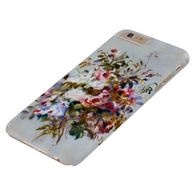 Renoir Beautiful Rose Bouquet Barely There iPhone 6 Plus Case