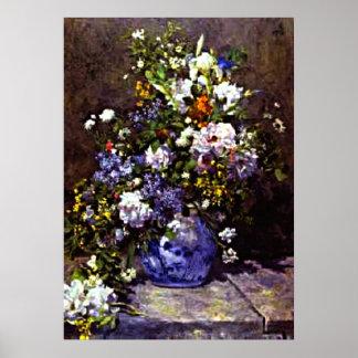 Renoir - Blue Vase Posters