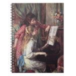 Renoir: Chicas en el piano Cuaderno
