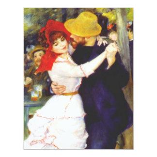 Renoir Dance at Bougival Invitations
