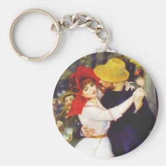 Renoir Dance at Bougival Key Chain