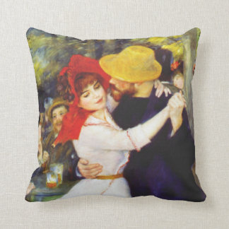 Renoir Dance at Bougival Pillow
