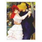 Renoir Dance at Bougival Postcard