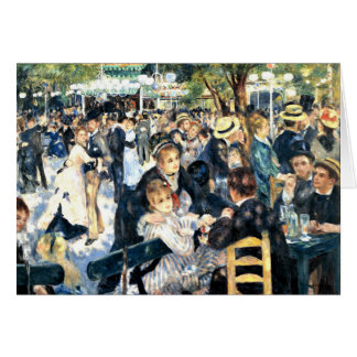 Renoir - Dance at Le Moulin de la Galette Card
