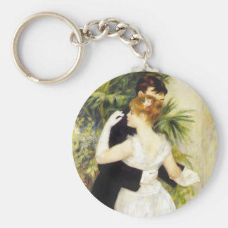 Renoir Dance in the City Key Chain