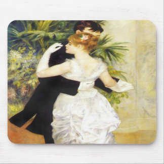 Renoir Dance in the City Mouse Pad