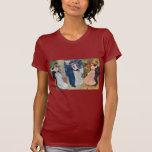Renoir - danza en la ciudad, el país, y el Bougiva Camiseta