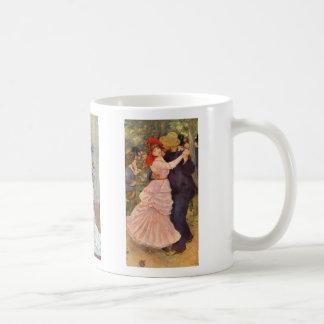 Renoir - danza en la ciudad, el país, y el taza clásica