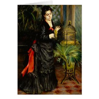 Renoir de Pedro Renoir Tarjeta