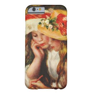 Renoir dos chicas que leen en el iPhone 6 Ca del Funda De iPhone 6 Barely There