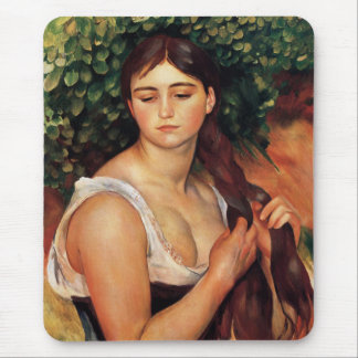 Renoir el cojín de ratón de la trenza alfombrilla de raton