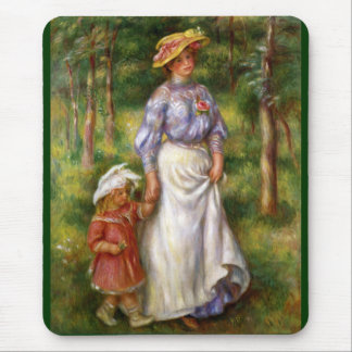 Renoir El paseo Alfombrilla De Ratones