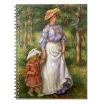 Renoir: El paseo Libreta