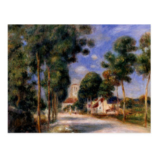 Renoir - Entering the Village of Essoyes Postcard