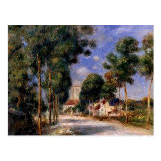 Renoir - Entering the Village of Essoyes Postcard