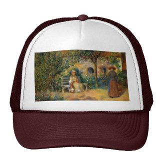 Renoir: Escena del jardín en Bretaña Gorras De Camionero