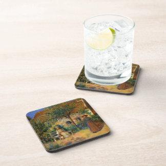 Renoir: Escena del jardín en Bretaña Posavasos De Bebida