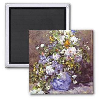 Renoir: Florero azul Imán