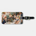 Renoir French Luncheon at the Boating Party Tag For Luggage