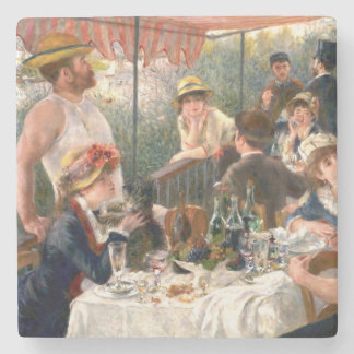 Renoir French Luncheon at the Boating Party Stone Coaster