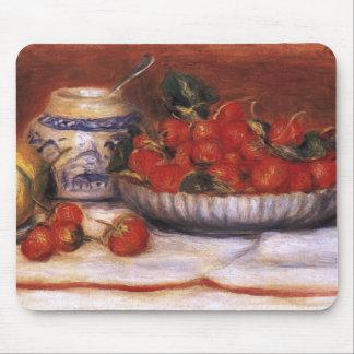 Renoir Fresas Alfombrilla De Ratón