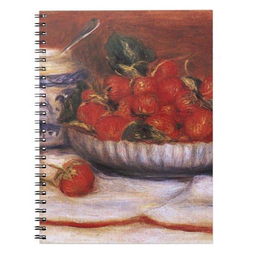 Renoir: Fresas Cuaderno