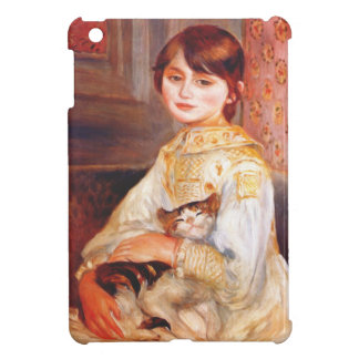 Renoir Girl With Cat iPad Touch Case iPad Mini Cover