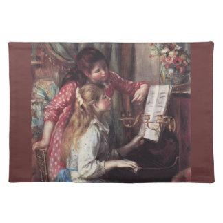 Renoir: Girls at the Piano Cloth Placemat