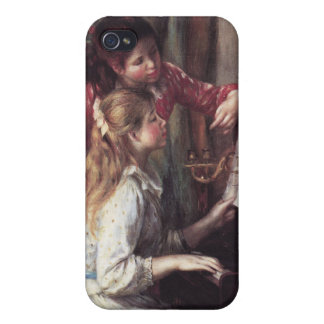 Renoir: Girls at the Piano iPhone 4 Covers