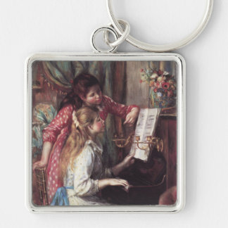 Renoir: Girls at the Piano Keychain