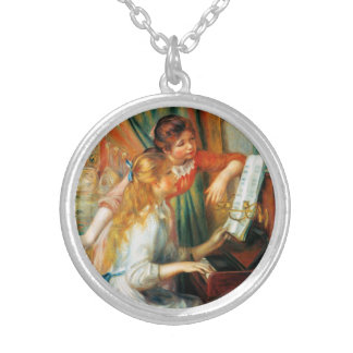 Renoir Girls at the Piano Necklace