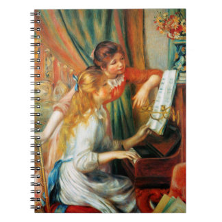 Renoir Girls at the Piano Notebooks