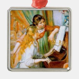 Renoir: Girls at the Piano Christmas Ornament