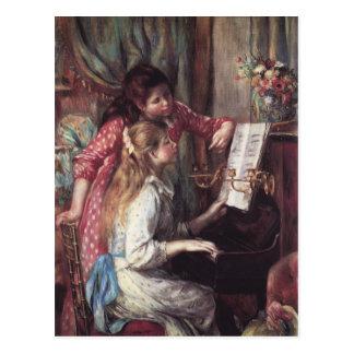 Renoir: Girls at the Piano Postcard