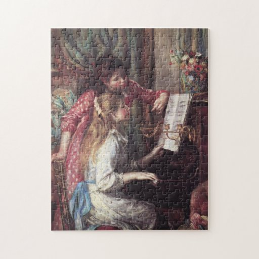 Renoir: Girls at the Piano Puzzle