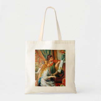 Renoir Girls at the Piano Tote Bag
