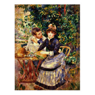 Renoir - In the Garden Postcard