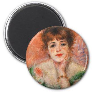 Renoir Jean Samary en un imán Necked bajo del vest
