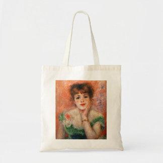 Renoir Jean Samary en una bolsa de asas Necked baj
