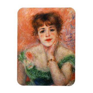 Renoir Jean Samary in a Low Necked Dress Magnet